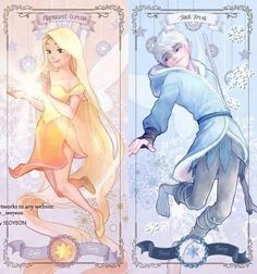 Rapunzel and Jack as fairies (2)
