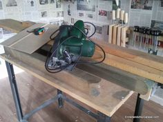 Materiales para hacer la estructura de la mesa de taller Home Appliances, Nova, Club, Atelier, Diy, Blue Prints, House Appliances, Appliances