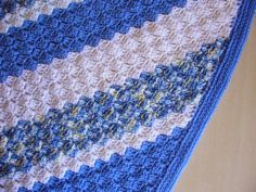 c2c crochet borders | border but when i came across a pretty neat border pattern i had to ...