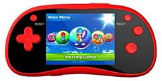 Handheld Portable Digital Screen 220 Preloaded Games  3 Color Display RED ** Check out this great product.Note:It is affiliate link to Amazon.