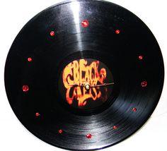 THE BLACK KEYS Vinyl Record Wall Clock by PandorasCreations, $25.00