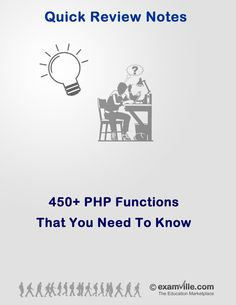 450+ PHP Functions for Web Developers - http://www.examville.com/examville/450+%20PHP%20Functions%20for%20Web%20Developers-PRID1462 #PHP #programming #internet #design