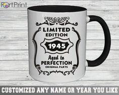 71st Birthday mug 71 Birthday gift 71st birthday by PortPrint1
