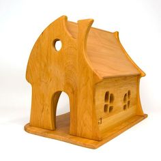 Fairy Tale Cottage Dollhouse - gonna make this a Hamster house