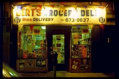Berts Grocery, St. Marks Place, 1980