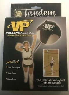 Volleyball Pal Tandem Sport Volleyball Training Device Practice Solo Ebay In 2020 Volleyball Training Volleyball Game Sales