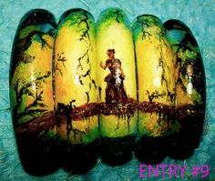 FAB UR NAILS: FUN FANTASY NAIL ART ENTRIES