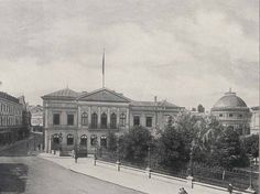 Palatul Regal și Calea Victoriei, 1904.  foto: Alexandru Antoniu/Albumul ilustrat al României