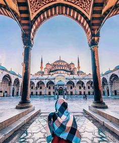 Sultan Ahmed Mosque - Blue Mosque // Photography by Айгу. - Guzi de - - Sultan Ahmed Mosque - Blue Mosque // Photography by Айгу. Places To Travel, Travel Destinations, Places To Visit, Turkey Destinations, Mekka Islam, Sultan Ahmed Mosque, Blue Mosque Istanbul, Istanbul Travel, Visit Istanbul