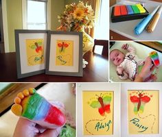Pretty way to save footprint of your baby