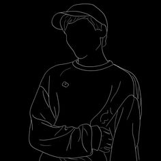 Louis Tomlinson illustration – Amazing tattoo patterns and designs Arte One Direction, One Direction Drawings, One Direction Wallpaper, Black Background Wallpaper, Dark Wallpaper, Cartoon Wallpaper, Outline Drawings, Pencil Art Drawings, Desenhos One Direction