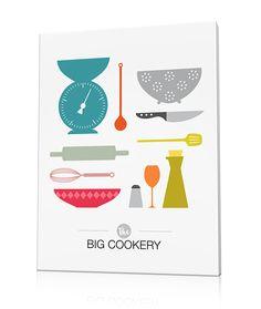 tableau pour cuisine design the big cookery - Tableau Pour Cuisine Pour Courses