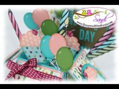 ▶ Card in a Box Video #2 by Sandi MacIver @ www.stampingwithsandi.com - YouTube