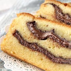 Image for Nutella Pound Cake