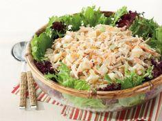 Salpicão de frango – Salade pommes de terre et poulethttp://www.monpetitgourmet.com/2014/02/salpicao-de-frango-salade-pommes-de-terre-poulet