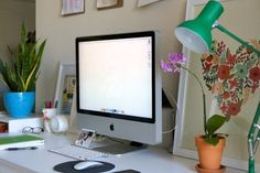 Matt & Shannon's His and Hers Shared Home Office