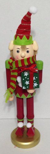 "Decorative Elf - Santa's Helper - Nutcracker 15"" Santa's Helpers,http://www.amazon.com/dp/B00GHWG0TU/ref=cm_sw_r_pi_dp_XPPMsb1TD1VY491R"