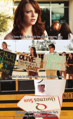 Signs ~ Easy A (2010) ~ Movie Quotes
