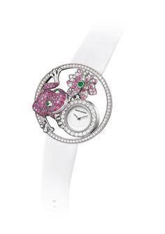 Boucheron Ajourée Grenouille watch