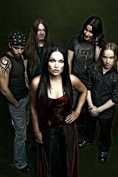"""Nightwish"" - before the big change. Loving Tarja on her own, and the new Nightwish ~:^]>"