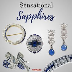 Sensational sapphires on Ruby Lane