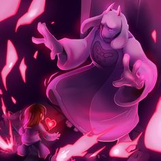 Here's a small compilation post of all the Undertale boss paintings I've done!Also, as promised – here is the HIGH-RES album. All of the images are 1920 x 1080 pngs, available for free use as icons, wallpapers, your own personal prints, youtube thumbnails – whatever you want. I would appreciate credit if you repost it/use it anywhere else online!Please do not sell these.
