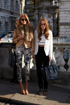 Millie and Rosie from Made in Chelsea - what do you think of their LFW style?  Check out the new pieces that have landed online: http://www.warehouse.co.uk/new-in-all/dept/fcp-category/list