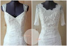 Diy Wedding Dress Alterations - Behind The Scenes Of A Wedding Dress Alteration Diy Wedding Redesign Of A Vintage Wedding Gown It Can Be Done Beautifully How To Bustle A Wedding Dres. Old Wedding Dresses, Wedding Dress Bustle, Wedding Dress Backs, Diy Wedding Dress, Wedding Dress Necklines, Wedding Dress Patterns, Diy Dress, Bridesmaid Dresses, Prom Dress Alterations