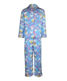Take a look at this Blue  amp  Purple Unicorn Pajama Set - Toddler  amp  · Hello  Kitty ... 5fac5f80c