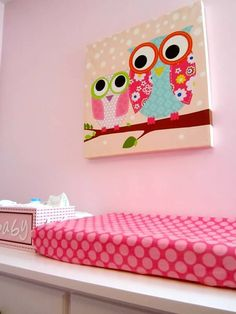Mackenzie's owl nursery @Ashley Godwin (this seems similar to the one you sent last night)