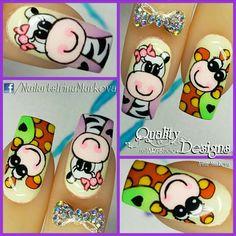 Hot Nail Designs, Nail Art Designs Videos, Nail Art Videos, La Nails, Manicure And Pedicure, Finger, Learn Art, Birthday Nails, Nail Art Hacks
