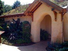 Wegerzyn Gardens Strawbale House by virgil.vaduva, via Flickr