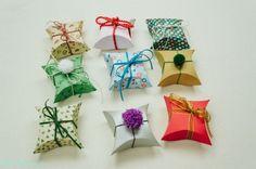 Estas caixinhas de presente podem ter a sua personalidade impressa nelas (Foto: handimania.com)
