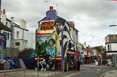 Image result for graffiti brighton