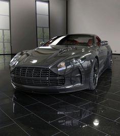 Wow! Carbon Fiber Aston Martin DBS POW!