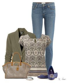 """""""Like my shoes?"""" by ksims-1 ❤ liked on Polyvore featuring Paige Denim, Wallis, VBH and Alexis Bittar"""