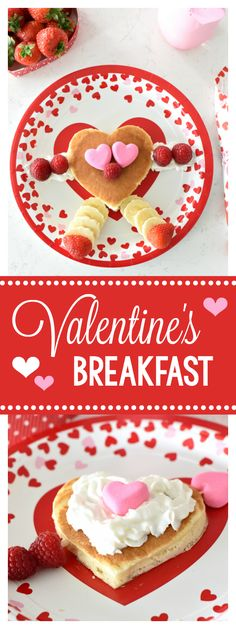 Fun Valentine's Day Breakfast idea for the kids