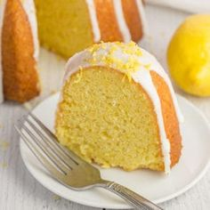 The best vegan lemon cake youll ever eat! It is simple to make and moist tangy and oh-so-lemon-y. The post The Best Vegan Lemon Cake appeared first on Win Dessert. Vegan Dessert Recipes, Delicious Vegan Recipes, Vegan Sweets, Cooking Recipes, Healthy Desserts, Veggie Recipes, Vegan Food, Vegan Vegetarian, Vegetarian Recipes