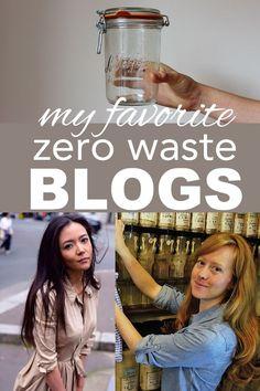 My favorite zero waste bloggers from www.goingzerowaste.com