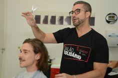 Salões doam valor de corte de cabelo para a Sociedade Viva Cazuza