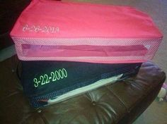 Have storage issues?  The perfect fit organizer is, well perfect!  Www.mythirtyone.com/634663