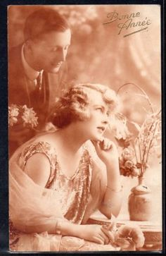 FB182-ART-DECO-COUPLE-MODE-Romantique-PHOTO-dART-KITSCH
