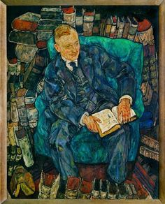 Egon Schiele - Portrait of Dr. Hugo Koller, 1918