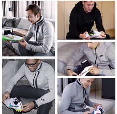 Even the Pros are impressed ! Nike you are doing it right . What do you think ? Do It Right, Soccer Players, Real Madrid, Nike, Celebrities, Jackets, Fashion, Football Players, Down Jackets
