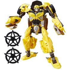 Transformers: The Last Knight Premier Edition Deluxe Bumblebee *** You can get more details by clicking on the image. (This is an affiliate link) #ActionFiguresStatues