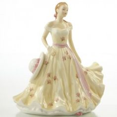 With Love (Petite) - English Ladies Company Figurine Thomas Kinkade, China Porcelain, Painted Porcelain, Porcelain Doll, Hand Painted, My Fair Lady, China Dolls, Royal Doulton, Something Beautiful