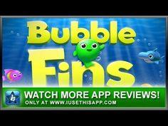 Bubble Fins iPhone App - Best iPhone App - App Reviews #iphone #apps #appreviews #IUT