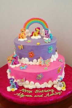 My daughter would treasure this my little pony cake!!!