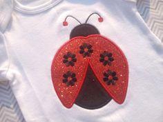 Ladybug Bodysuit by kissedwithcreativity on Etsy, $25.00