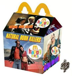 Fake Happy Meals – 40 new twisted Happy Meals by Newt Clements (image) Scary Movies, Horror Movies, Good Movies, Natural Born Killers, Kill Bill, Blade Runner, Happy Meal Box, Wheel Of Life, Arte Horror
